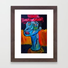 Fool on a Hill  Framed Art Print