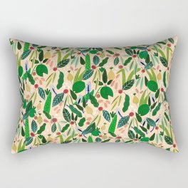 Desert Blooms Rectangular Pillow