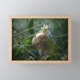 Fairy Mushroom Framed Mini Art Print