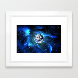 The Hand of God  Framed Art Print