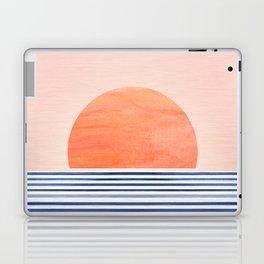 Summer Sunrise - Minimal Abstract Laptop & iPad Skin