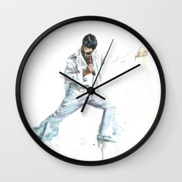 The Elvis Impersonator Wall Clock