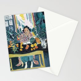 Interior with Etruscan Vase - Henri Matisse - Exhibition Poster Stationery Cards