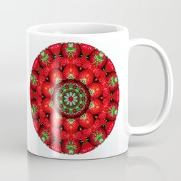 Strawberry season mandala k4 1157 Coffee Mug