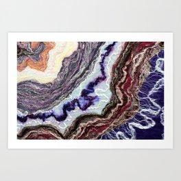 Flow II - FELT Expressions Art Print