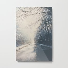 driving home for Christmas ... Metal Print