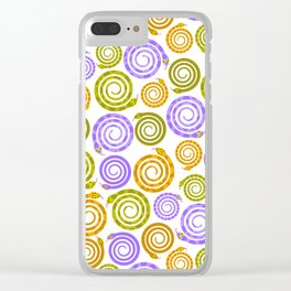 Mesmerizing snakes Clear iPhone Case