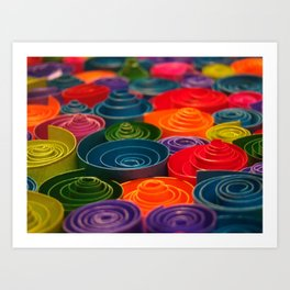 Rolled Color 2 Art Print