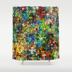 Plus Shower Curtain
