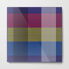 Crossing Color Metal Print