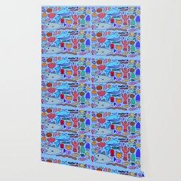 Colours Under the Sea Wallpaper