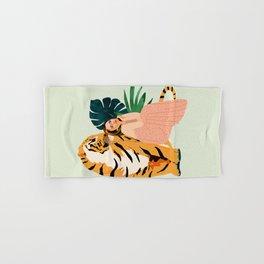 Tiger Spirit Hand & Bath Towel