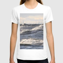 City and Waves T-shirt