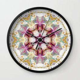 Mandalas from the Heart of Change 7 Wall Clock