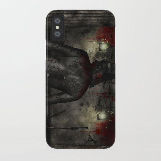 Dark Room Killer iPhone Case