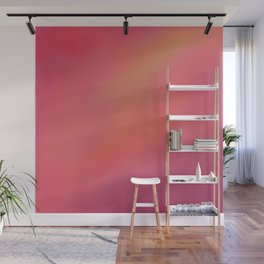 Red Blurred Wall Mural