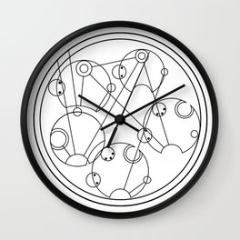 Wibbly Wobbly Timey Wimey Stuff Wall Clock