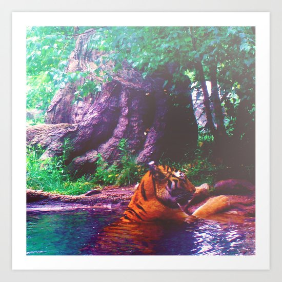 Cooling Off Art Print