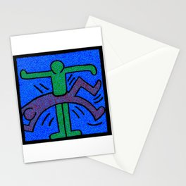 Keith Haring Humans Stationery Cards