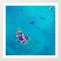 colour in oil II Art Print