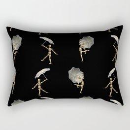 Umbrella Dance Rectangular Pillow