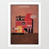 017_ARCREATURES-01 Art Print