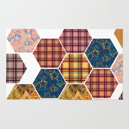 Country patchwork Rug