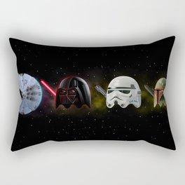 PacMan Wars Rectangular Pillow