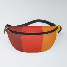 Multicolor Retro Strips Fanny Pack