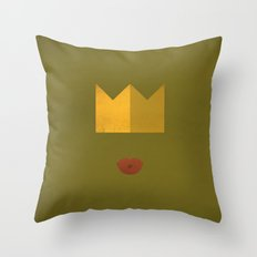 Frog Prince Throw Pillow