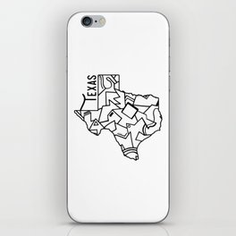 Texas Strong iPhone Skin