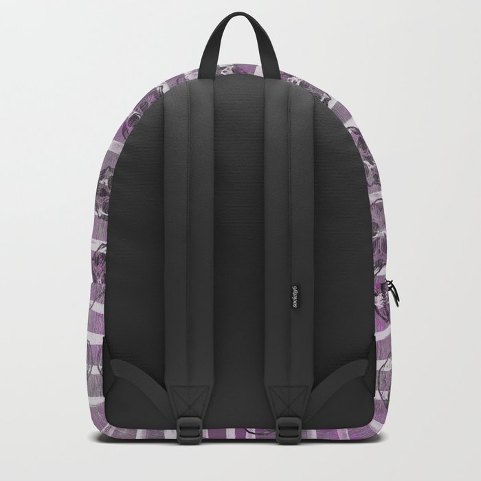 Grunge Skulls Backpack
