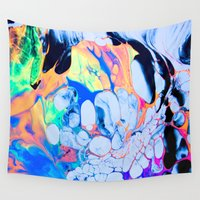 sonic Wall Tapestries featuring sonic by blair__berger