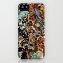 Entangled Mind Painting iPhone Case