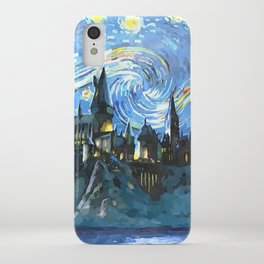 Starry Night in H castle iPhone Case