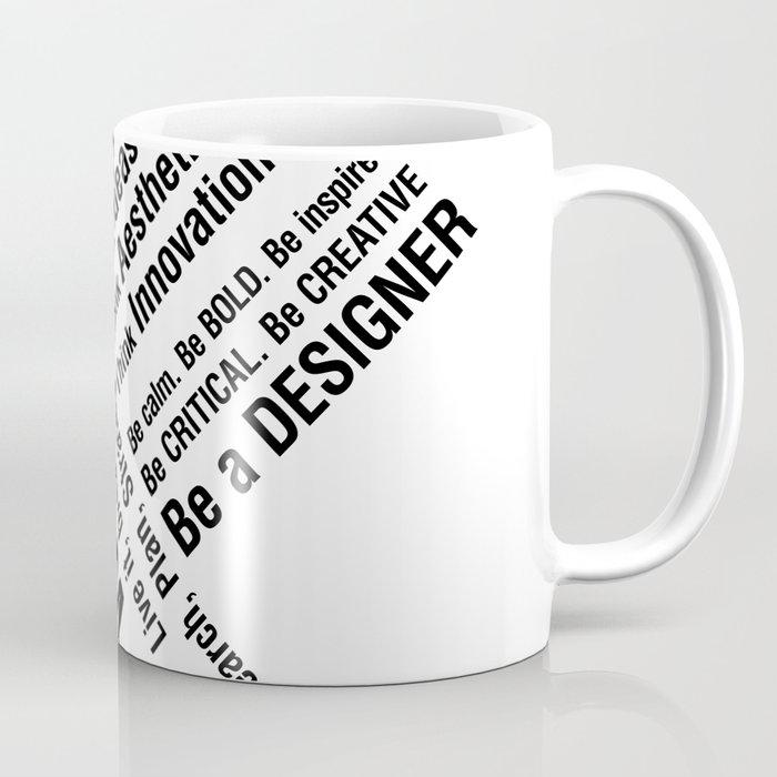 Graphic Design Wake Up Coffee Mug By Pabang Society6