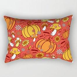 Psychedelic Fall Rectangular Pillow