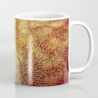 brown Mugs featuring brown by Sproot