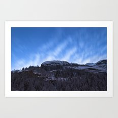 Mountain Sky  Art Print