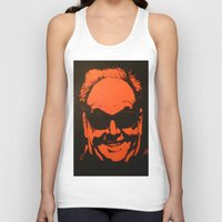 jack nicholson Tank Tops featuring Jack by Ty McKie Creations