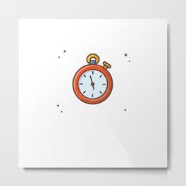 Stopwatch 1 Metal Print