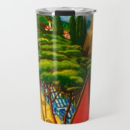 Vintage Abruzzo Italy Travel Travel Mug
