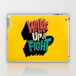 Wake Up and Fight Laptop & iPad Skin
