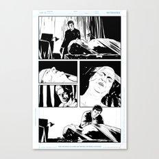Dexter Comic Page #2 Canvas Print