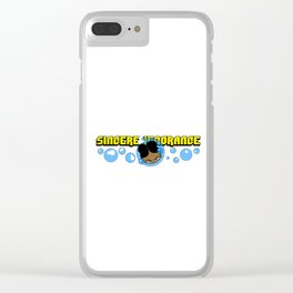Sincere Ignorance Clear iPhone Case