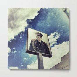 Checkpoint Charlie Metal Print