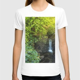 Magical forest waterfall T-shirt