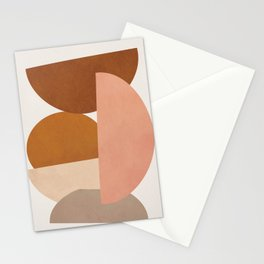 Abstract Stack I Stationery Cards