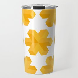Isometric flower Travel Mug