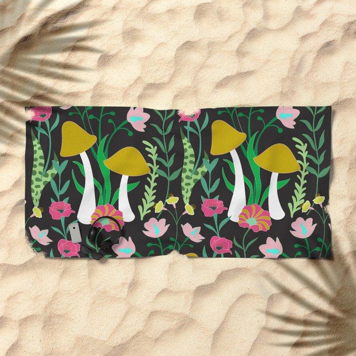 Forest Floor Beach Towel
